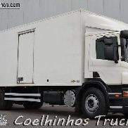SCANIA P 270 // With Retarder closed box truck