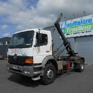 MERCEDES-BENZ Atego 1828 steel/lames container chassis