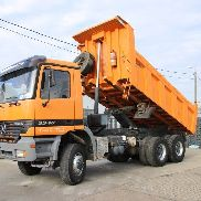 MERCEDES-BENZ Actros 3340 AK + manual dump truck