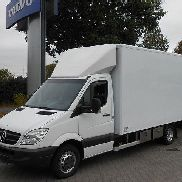 MERCEDES-BENZ 516 Sprinter Koffer m. Lüftung Heizung Kühlung closed box truck + closed box trailer