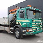 SCANIA P94GB4X2NZ260 dump truck