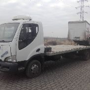 AVIA D75 EL car transporter
