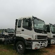 New ISUZU 8*4 OR 6*4 NEW CHASSIS chassis truck + chassis trailer