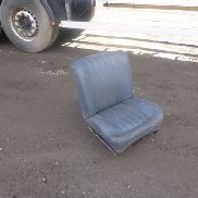 10X SINGLE LEATHER SEATS seat for skid steer for sale by auction
