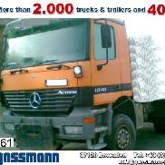Damaged MERCEDES-BENZ Actros / 1848AK / Standheizung/Klima chassis truck