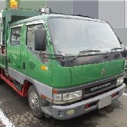 MITSUBISHI Canter flatbed truck