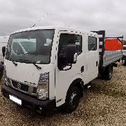 New NISSAN Cabstar 35.13 DOKA+Pritsche 3,0 E6 130Ps flatbed truck