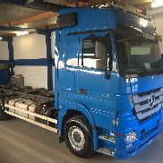 MERCEDES-BENZ Actros 2551 container chassis