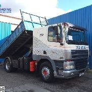 DAF 85 CF 380 Manual, Borden dump truck