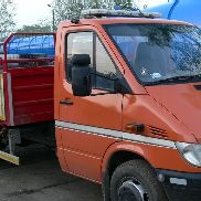 MERCEDES-BENZ sprinter dump truck