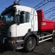 SCANIA P340CBMNZ dump truck for sale by auction