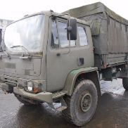 Camion militare DAF leyland + winch