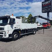VOLVO fm 13.400 flatbed truck