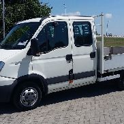 IVECO 35 c 15 daily doka flatbed truck