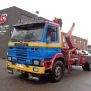 SCANIA 93 m 250 ALFINGER hook lift