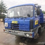 TATRA T 815 260 S23 28 255 6x6.2 flatbed truck for sale by auction