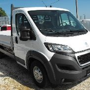 New PEUGEOT Boxer 35 L3, 2.2HDi Fahrgestell mit Pritsche dump truck