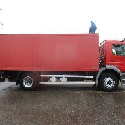 MERCEDES-BENZ Atego 1828 Koffer ADR closed box truck