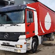 MERCEDES-BENZ ACTROS 1831 closed box truck