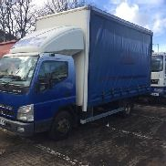 MITSUBISHI Fuso Canter truck curtainsider