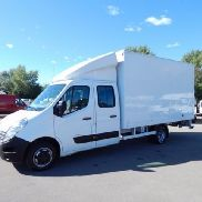 RENAULT MASTER 2.3 DCi MAXI closed box truck