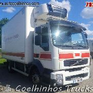 VOLVO FL 240 // Carrier Thermo King TS550 refrigerated truck