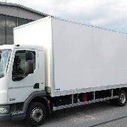 DAF LF 45.210 EEV KOFFER CONTAINER BOX TAIL LIFT closed box truck