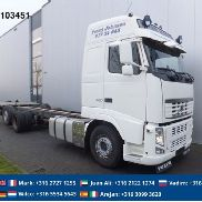 VOLVO FH420 CHASSIS GLOBE EURO 5 chassis truck