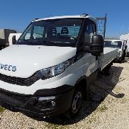 New IVECO Daily 35C17 Cool 3.0 HPi Fahrgestell mit Pritsche flatbed truck