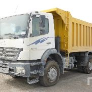 MERCEDES-BENZ AXOR 3028 dump truck for sale by auction