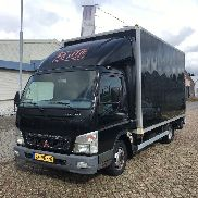 MITSUBISHI CANTER Closed Box (rijbewijs B) closed box truck