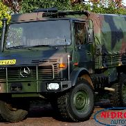 MERCEDES-BENZ UNIMOG 1300L ARMY VEHICLE flatbed truck