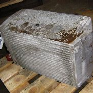 BOMAG engine cooling radiator for BOMAG BC601RB compactor