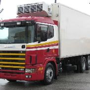 SCANIA 144 L 460 500 '98 refrigerated truck