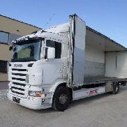 SCANIA R380 4X2 + Trailer fertiger Kofferwagen