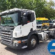 SCANIA P420 LB 4 OHNE AUFBAU - Chassis chassis truck
