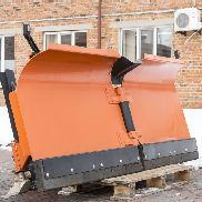 JCB snow plough