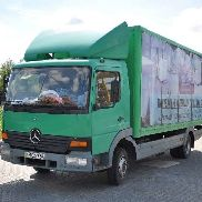 MERCEDES-BENZ Altego 815 closed box truck