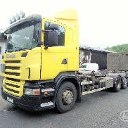 SCANIA R380LB HNB chassis truck for sale by auction