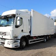 RENAULT Premium 24C/DXI 11-450/EC 06 B refrigerated truck + refrigerated trailer