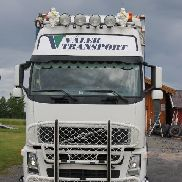 VOLVO FH 480 - COMPLETE VEHICLE FOR SAWDUST, WOOD CHIPS, BULK PRODUCTS dump truck + tipper trailer