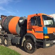 MERCEDES-BENZ Atego 2628 Manuel chassis truck