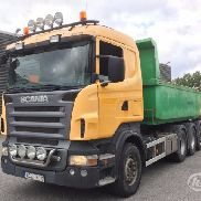 SCANIA R500LBHHA dump truck for sale by auction