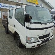 TOYOTA Dyna 150 2,5 D-4D Db.Cab Chassis flatbed truck