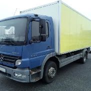 MERCEDES-BENZ Atego 1523 closed box truck