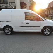 VOLKSWAGEN CADDY 1.4i AC closed box truck