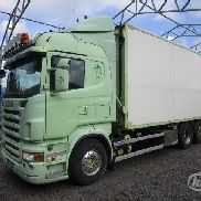 SCANIA R480LB Wood chip trucks - 08 dump truck for sale by auction