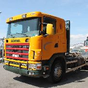 SCANIA R124GB chassis truck