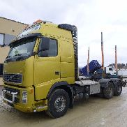 VOLVO FH520 6X4 + HYDRAULICS + BIG AXEL timber truck