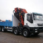 IVECO Trakker AD 410 T 45 flatbed truck